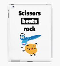 Scissors Beats Rock iPad Case/Skin