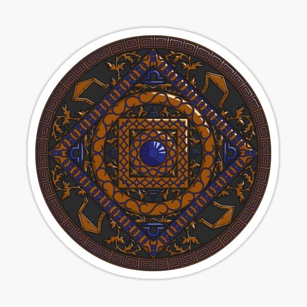 Libra Mandala Sticker