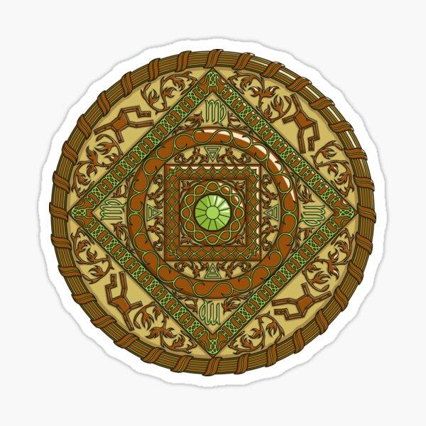 Virgo Mandala Sticker