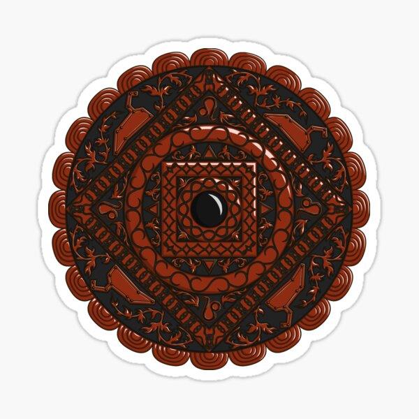 Leo Mandala Sticker