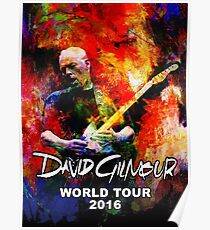 Póster David Gilmour WORLD TOUR 2016 GAL07