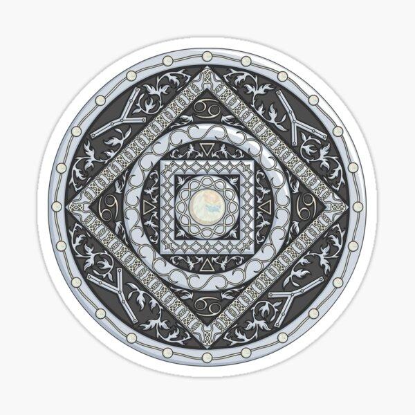 Cancer Mandala Sticker