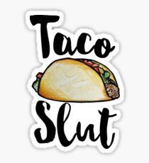 Taco Slut Sticker