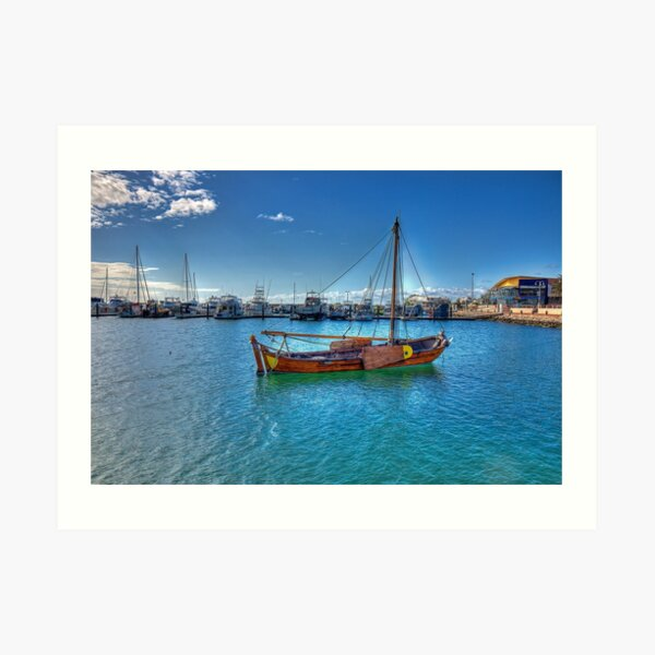Geraldton Marina, Western Australia #2 Art Print