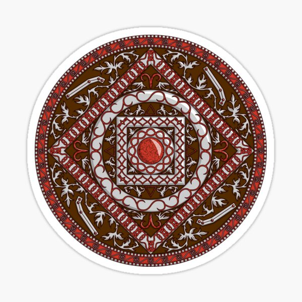Aries Mandala Sticker