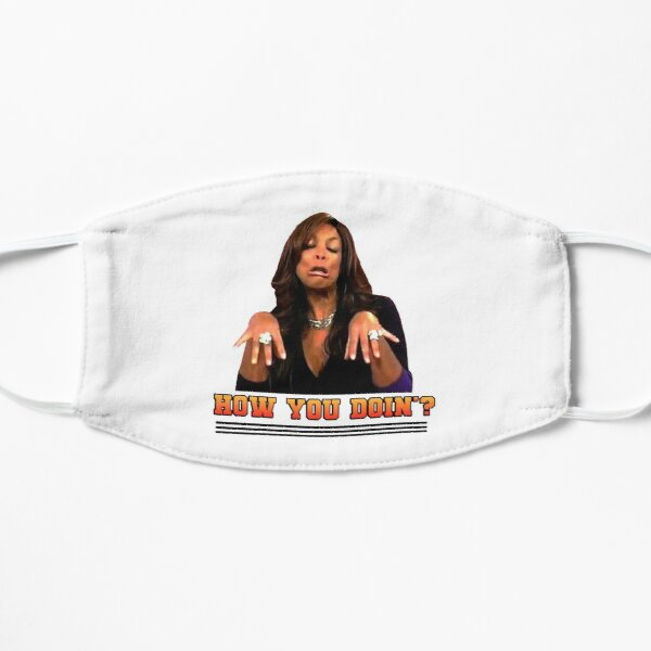 Wendy Williams How You Doin Flat Mask