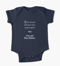 I've got The Doctor Kids Clothes
