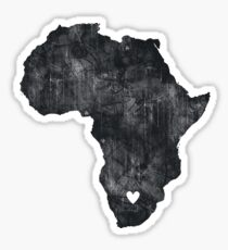 I Love South Africa Sticker