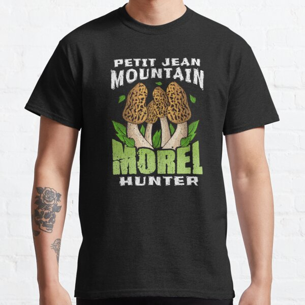 PETIT JEAN MOUNTAIN MOREL HUNTER | Mushroom Foraging Classic T-Shirt