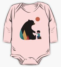 Promise Long Sleeve Baby One-Piece
