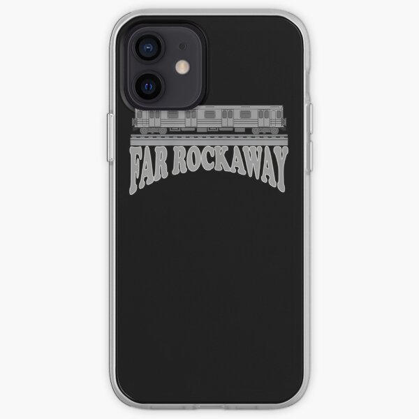 Far Rockaway Subway Train iPhone Soft Case