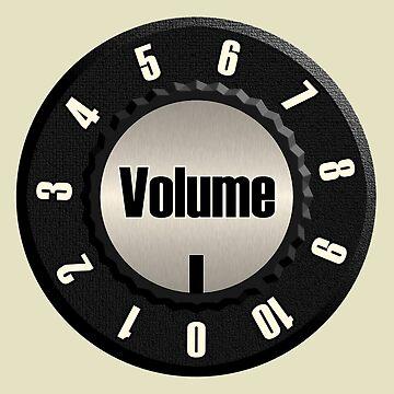 Vintage Volume Knob by siban