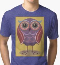 LITTLE HOOT Tri-blend T-Shirt