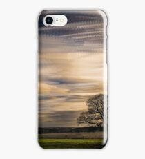 timelapse movement of clouds. iPhone Case/Skin