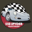Porsche 550 Spyder by velocitygallery