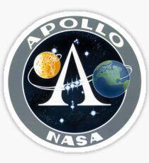 Apollo Program Logo Sticker