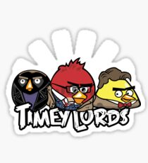 Timey Lords Sticker
