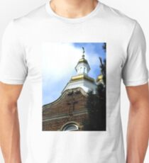 Ukrainian church in Hamilton, Ontario, Canada.  T-Shirt