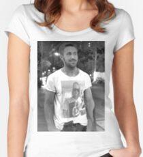 Ryan Gosling Macaulay Culkin Shirt Women's Fitted Scoop T-Shirt