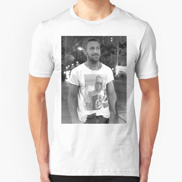 Ryan Gosling Macaulay Culkin Shirt Slim Fit T-Shirt