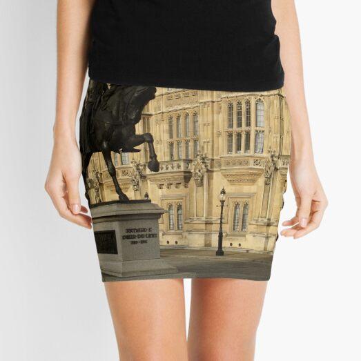Richard The Lionheart At Westminster Mini Skirt