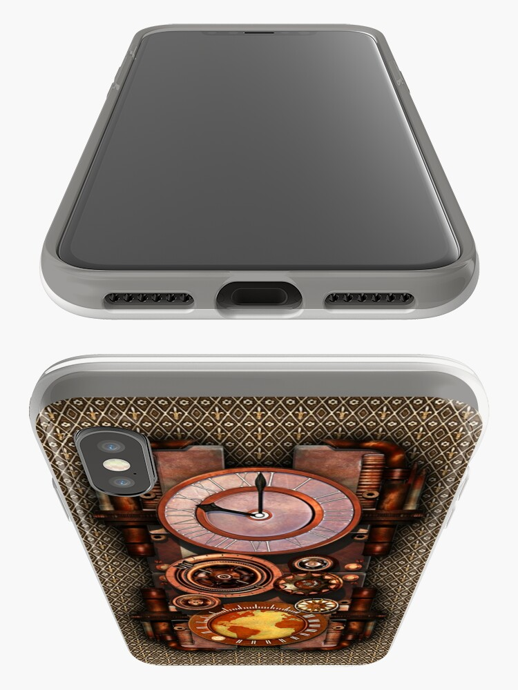 Alternate view of Infernal Vintage Steampunk Timepiece phone cases iPhone Cases & Covers