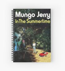Mungo Jerry Spiral Notebook