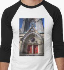 Metropolitan United Church Men's Baseball ¾ T-Shirt