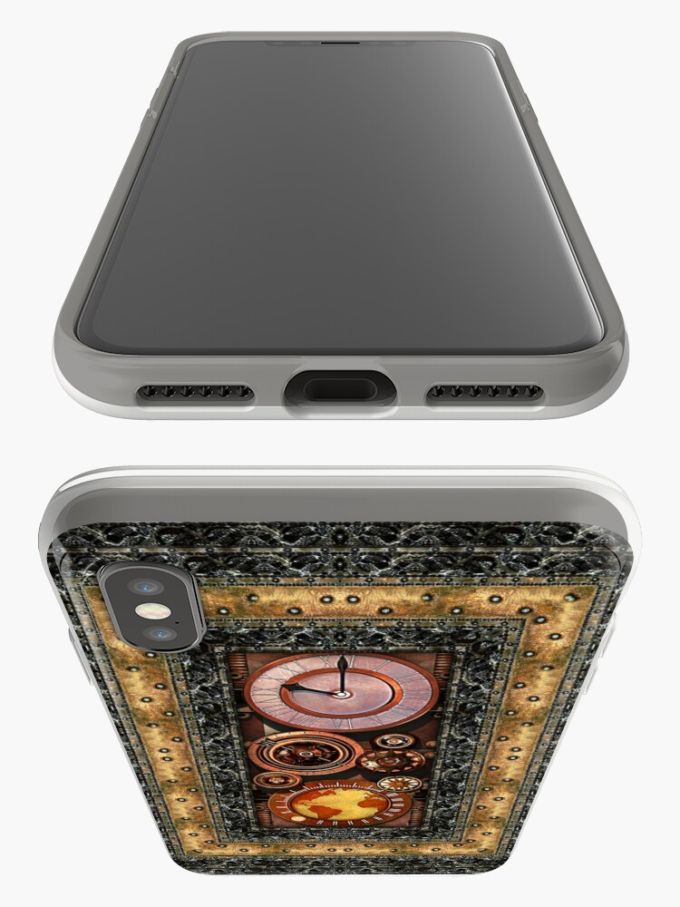 Alternate view of Elegant Steampunk Timepiece Steampunk phone cases iPhone Case & Cover