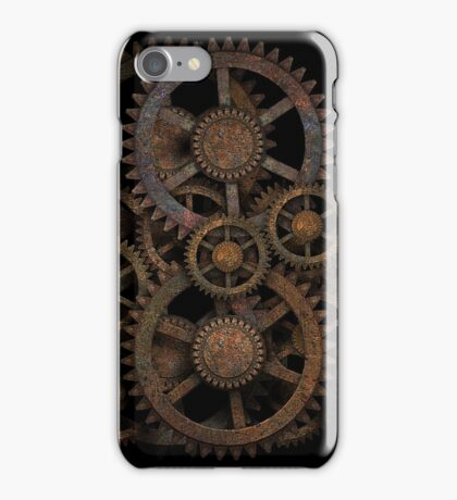 Infernal Vintage Steampunk Gears on your Gear iPhone Case/Skin