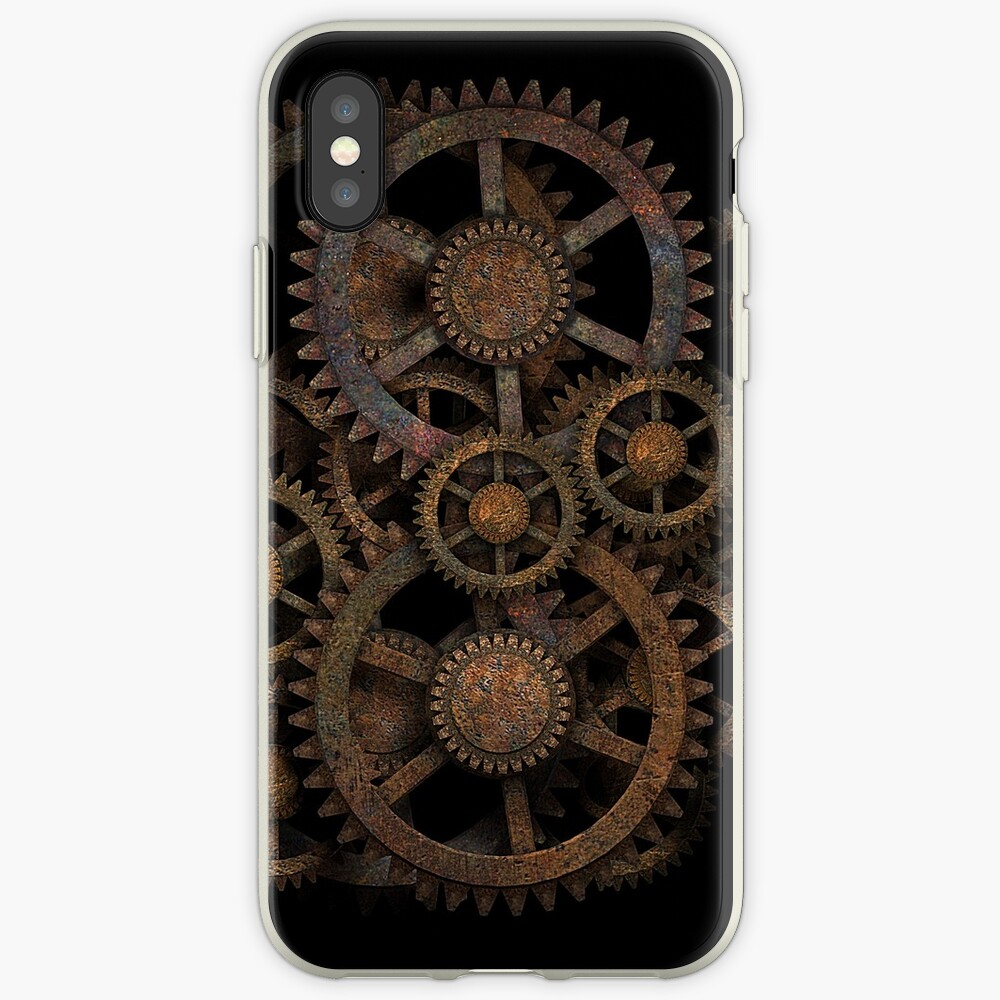 Infernal Vintage Steampunk Gears on your Gear iPhone Cases & Covers