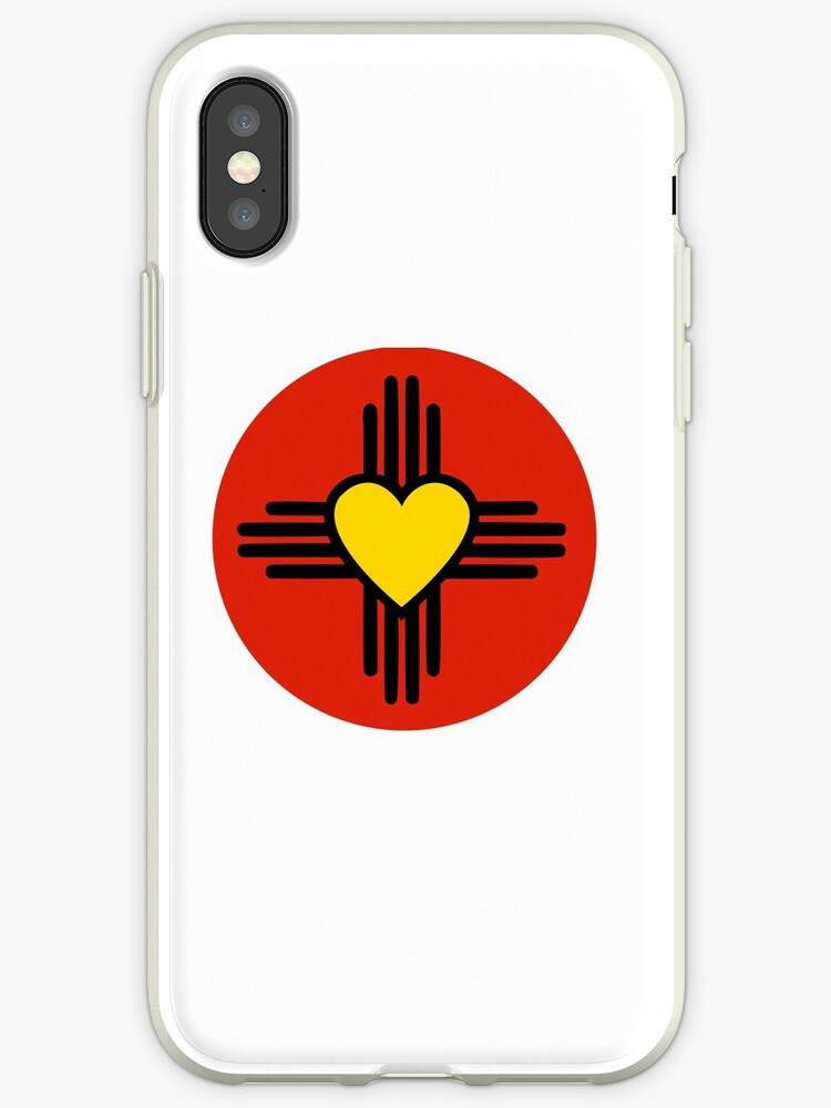 Zia Heart Symbol Iphone Cases Covers By Michelle Smith Redbubble