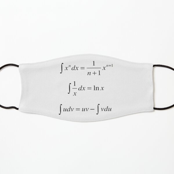 #Integrals, #math, #calculus, #mathematics, Integral, natural, logarithm, naturalLogarithm, exponent Physics Kids Mask