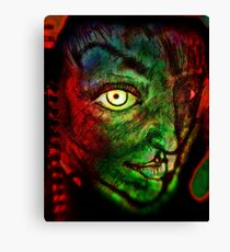 Page 2 The Alien Canvas Print