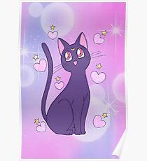 Sailor Moon - Luna Poster
