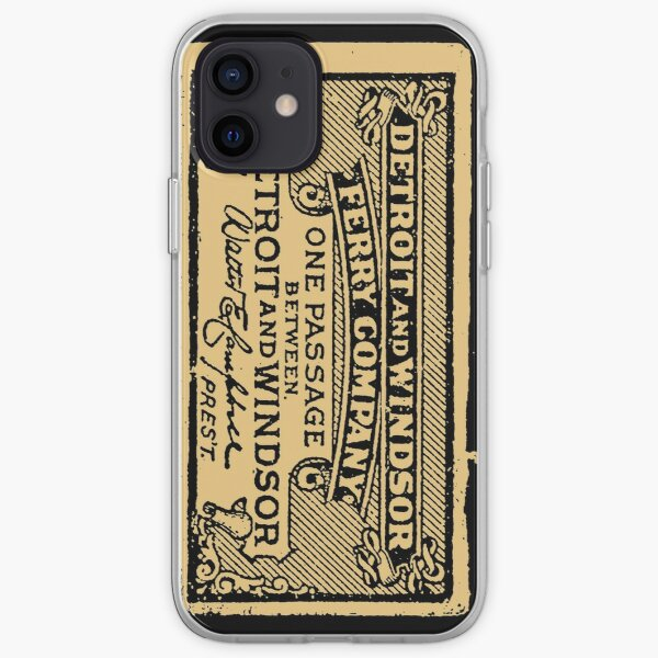Detroit and Windsor Ferry Co. 1877 iPhone Soft Case