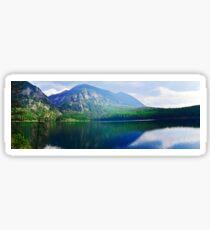 Holland Lake Panoramic View Sticker