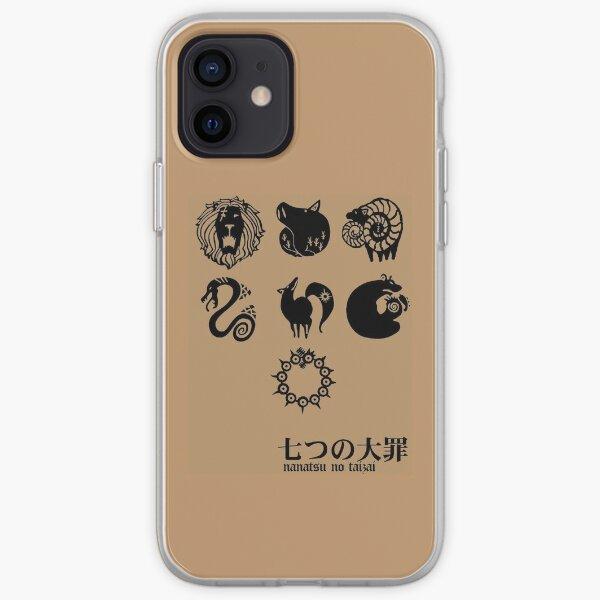 Nanatsu No Taizai Mark Funda blanda para iPhone