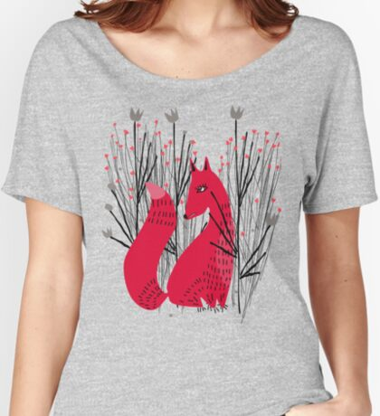 Fox in Shrub Relaxed Fit T-Shirt