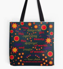 The Wrath and the Dawn - This Dangerous Girl Tote Bag