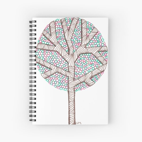 Spring Tree Spiral Notebook