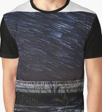 Orion Bridge Startrails Graphic T-Shirt
