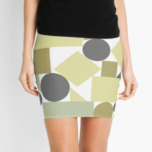 The balance of geometries Mini Skirt