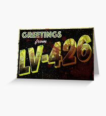 greetings lv426 Greeting Card
