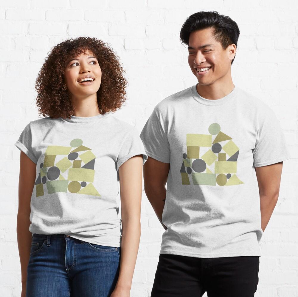 The balance of geometries Classic T-Shirt