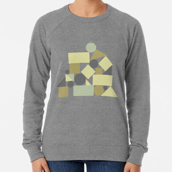 The balance of geometries Lightweight Sweatshirt