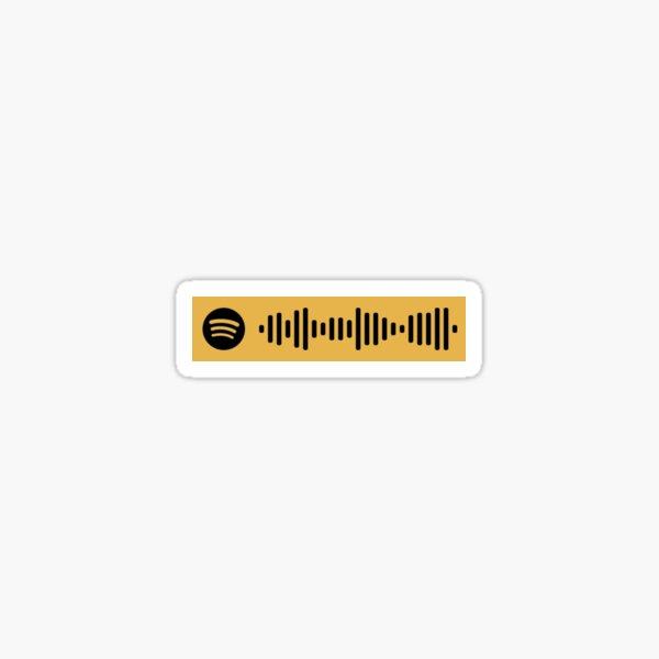 ¡SALIDA! Código de Spotify Pegatina