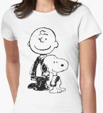 Peanuts meets Star Wars Women's Fitted T-Shirt