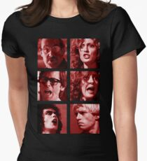 Rocky Horror Reactions  Womens Fitted T-Shirt
