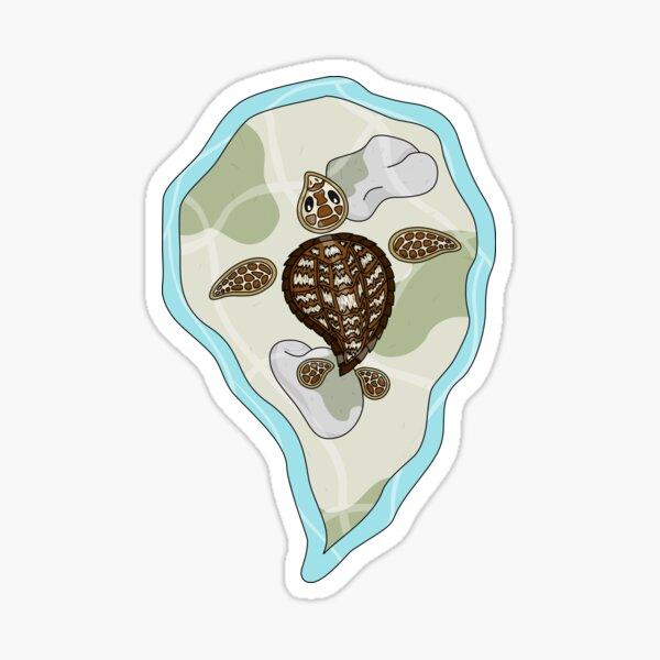 Callie the Sea Turtle Sticker